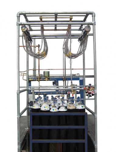 Manual Pack Filling Pallet Rig